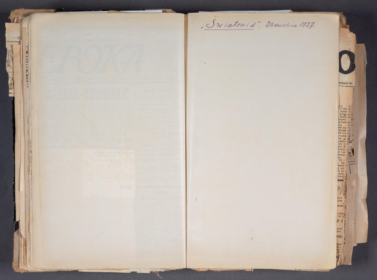 Światowid. 23 kwietnia 1927