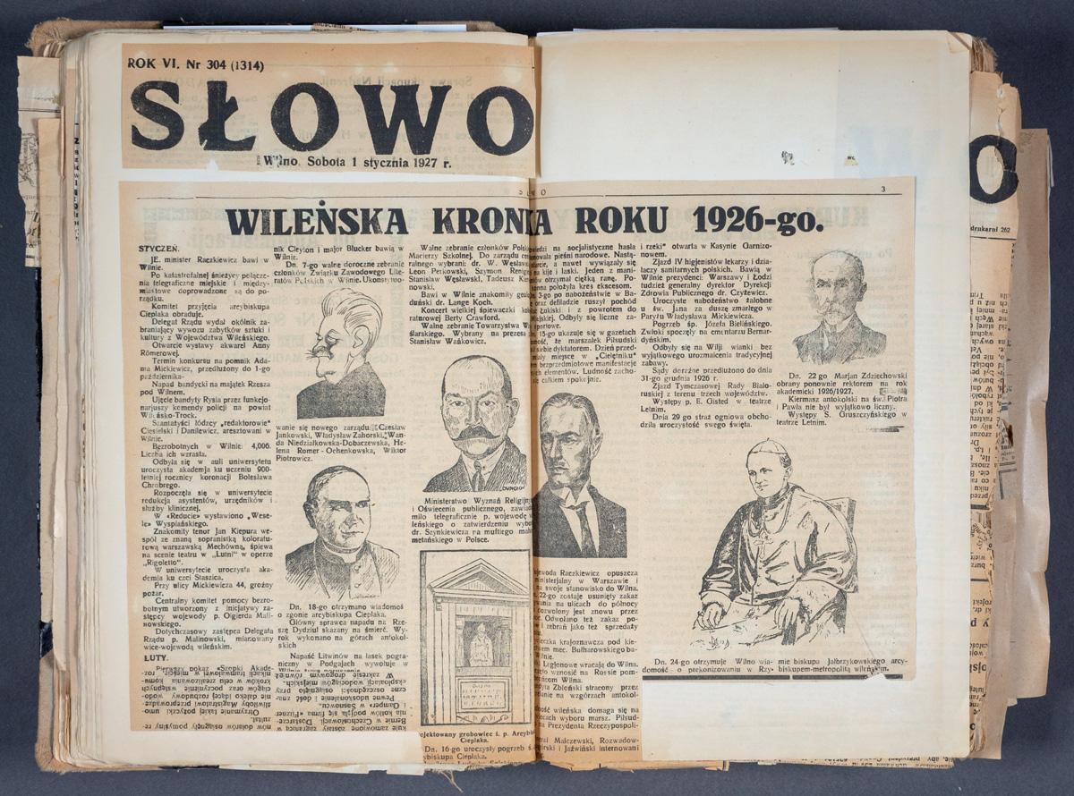 Wileńska kronika roku 1926-go.