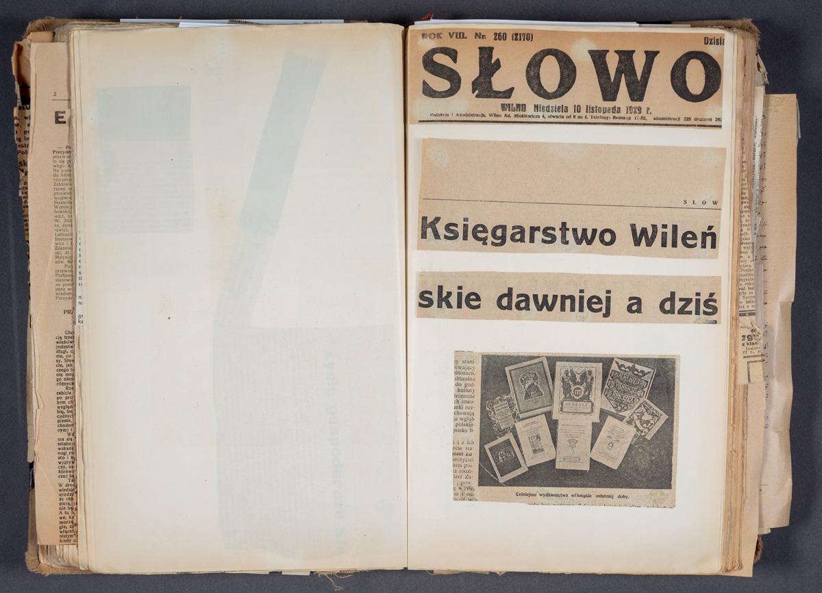 Księgarstwo Wileńskie dawniej a dziś