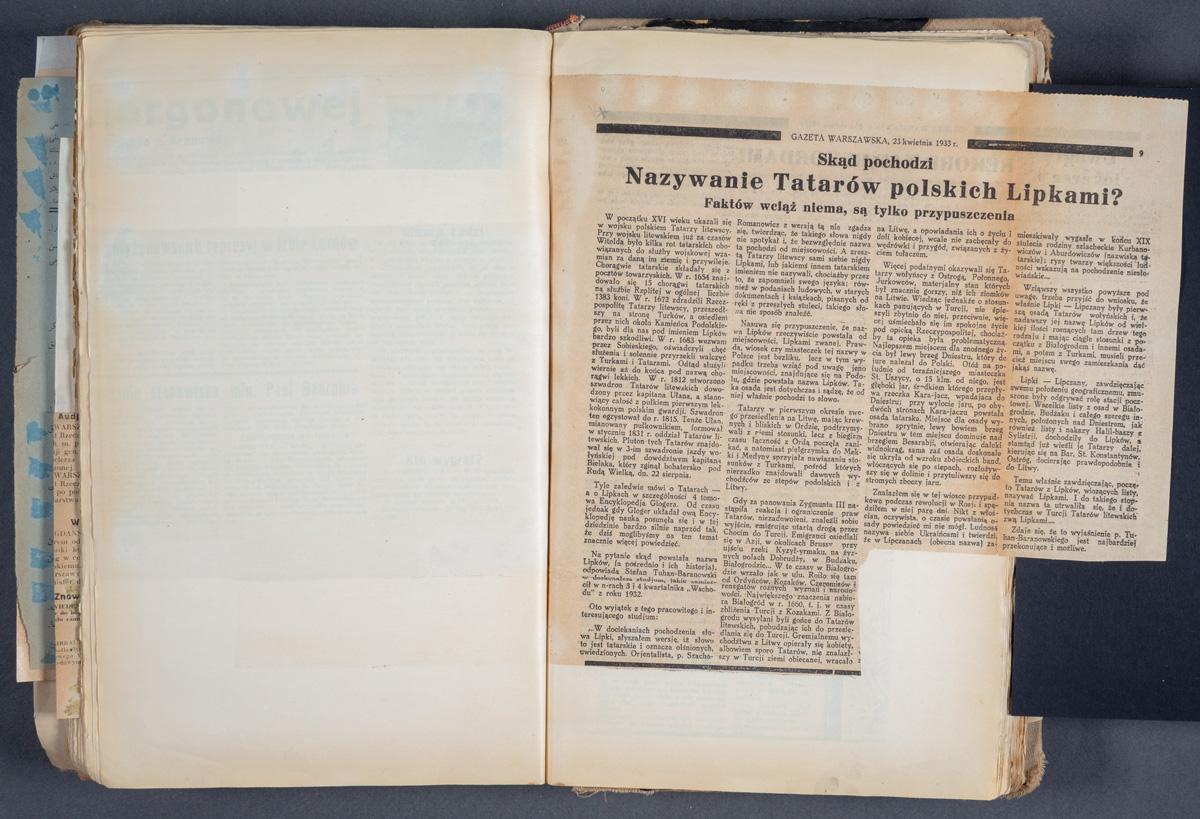Skąd pochodzi  Nazywanie Tatarów polskich Lipkami? Faktów wciąż niema, są tylko przypuszczenia