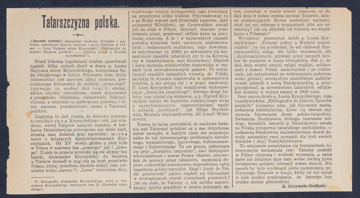 Tatarszczyzna polska